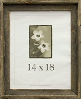product image for Frame USA Barnwood Series 14x18 Picture Frames - Made with Real Reclaimed Wood