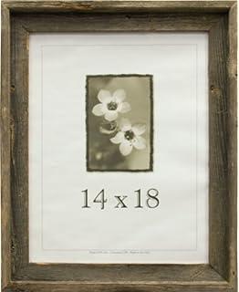 frame usa 17070 barnwood picture frames 14 x 18