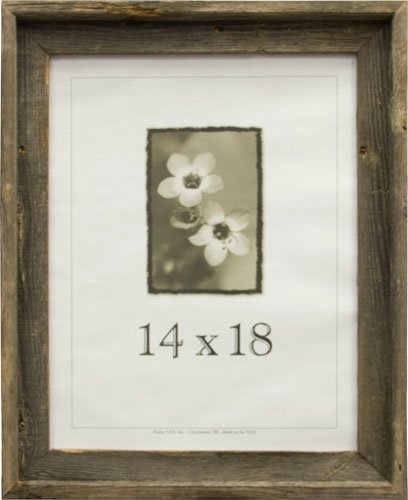 Amazon.com - 14x18 Picture Frames-Barnwood frames -