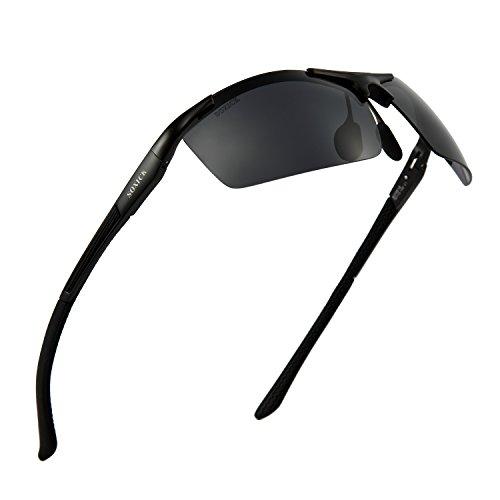 Polarized Sunglasses for Men Outdoor Sports Glasses Unbreakable - You Can Eyeglasses Sunglasses Over Wear