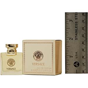 VERSACE SIGNATURE by Gianni Versace for WOMEN: EAU DE PARFUM .17 OZ MINI (note* minis approximately 1-2 inches in height)