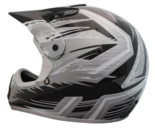 Black//Gray, Small THH Helmet TX-10 Youth Helmet