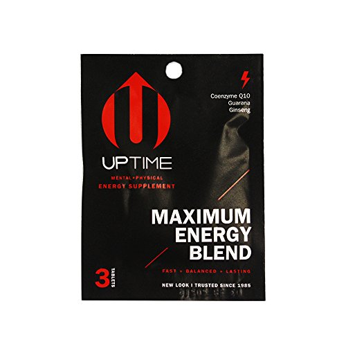 UPTIME Energy Maximum Blend Tablets - 3ct. Packet (24ct. case)