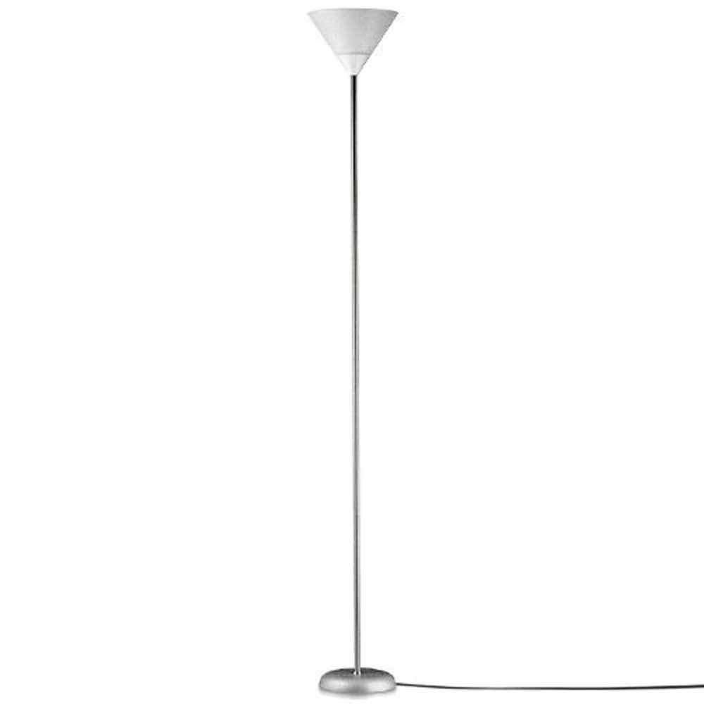 Vetrineinrete® Lampada piantana da terra alta 178 cm moderna luce per salotto e camera da letto lampada e27 max 40 watt F28