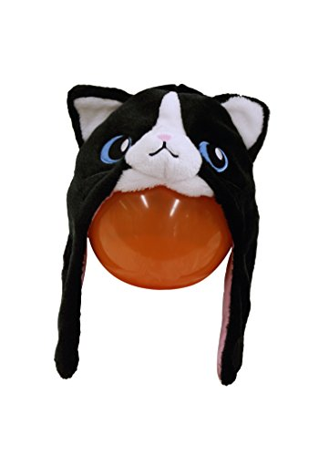 Black Cat Kigurumi Cap -