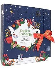 English Tea Shop - Book Style Christmas Night - Advent Calendar - 25 Pyramid Tea Bags, 50g