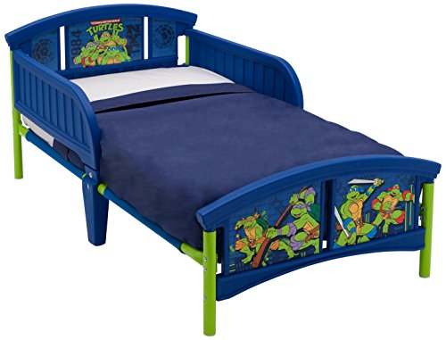 Delta Children Teenage Mutant Ninja Turtles Plastic Toddler Bed