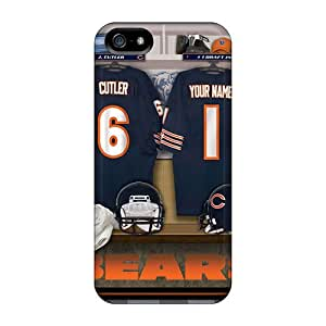 New Premium Thomas Bear House Chicago Bears Uniform Skin Case Cover Excellent Fitted For Iphone 5/5s