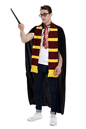 Zac's Alter Ego® 5 Piece Wizard Set - Perfect for Halloween & World Book Day ()