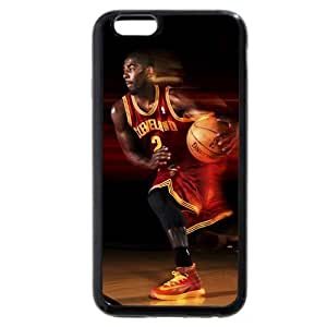 Onelee(TM) - Customized Black Soft Rubber TPU iPhone 6 Plus 5.5 Case, NBA Superstar Cleveland Cavaliers Kyrie Irving iPhone 6 Plus 5.5 Case