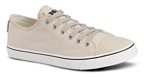 Diadora Zapatillas Running Zapatillas Jogging Hombre Clipper C crudo zapatos crudo con rayas