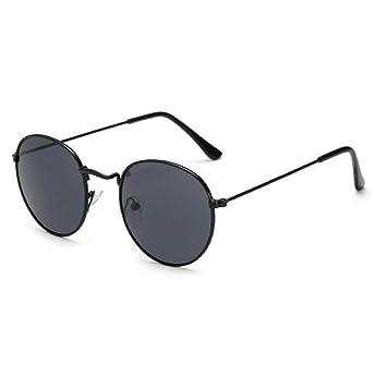 WFOYZNZ Gafas de Sol de Dama Gafas de Sol Redondas clásicas ...
