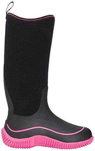 Pink Multi Season Hale Muck Rubber Black Women's Boot Boot Hot gqEwz