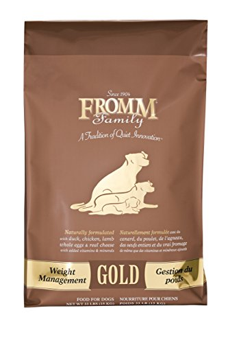 Fromm Family Foods 727533 Weight Management 15 Lb Gold Dog Food (1 Pack), One Size