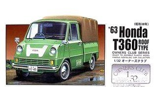 `63 Honda T360 with Top (Model Car) Micro Ace(Arii) 1/32 Owners Club|No.46