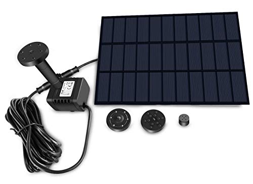 Sunlitec Solar Fountain with