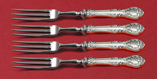 King Sterling Edward Gorham (King Edward by Gorham Sterling Silver Fruit Fork Set 4-piece HHWS 6