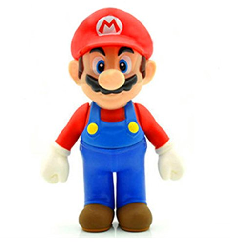 Jiahui Brand 3 Pcs Super Mario Bros Luigi Mario Yoshi PVC Action Figures Toy, 4.7""