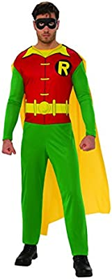 Batman - Disfraz de Robin para hombre, Talla XL adulto (Rubies 820963-XL)