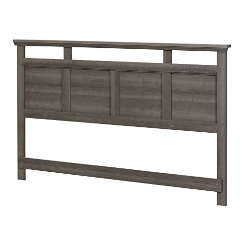 South Shore Versa Headboard, King 78-Inch, Gray Maple