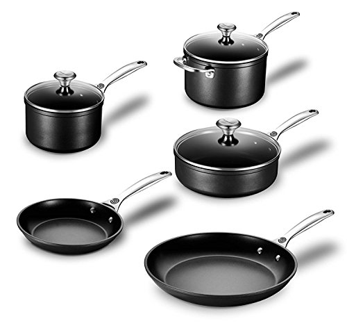Le Creuset Toughened Nonstick 8 Piece Cookware Set