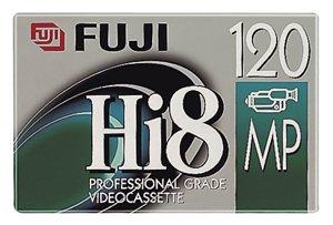Fuji Hi 8 Blank Videocassette Tapes, 7 Pack