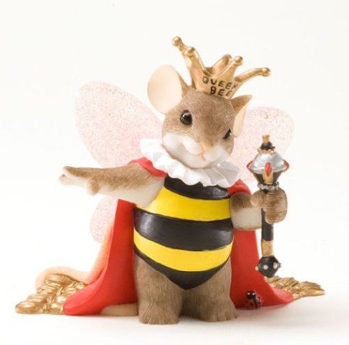 Charming Tails Queen Bee Figurine