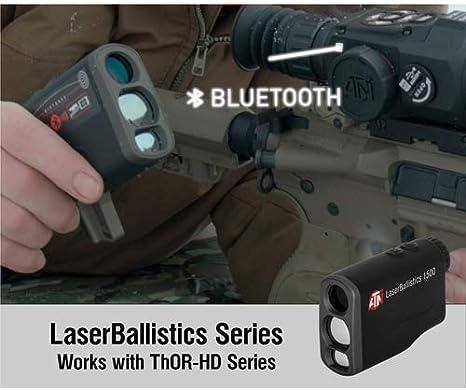 Ballistic Calculator and Shooting Solutions App theOpticGuru ATN Laser Ballistics Range Finder w//Bluetooth