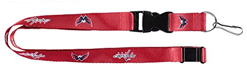 Washington Capitals Lanyard - NCAA Washington Capitals NHL-LN-095-10 Team Lanyard, One Size, Multicolor