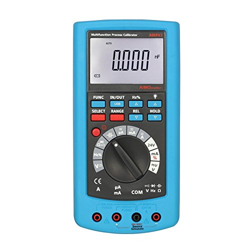 2 In 1 Professional High Accuracy Multifuction Voltage Current Calibrator Aimometer Ampx1 Process Calibrator With Multimeter