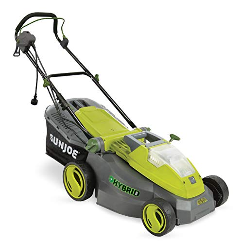 iON16LM-HYB 40V 4.0 Ah Hybrid Cordless or Electric Lawn Mower, 16