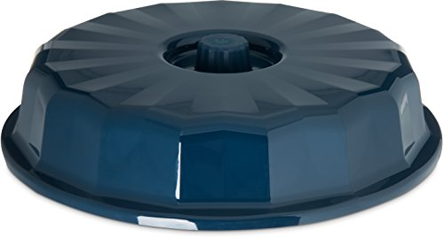 Midnight Dome (Dinex DX9400B50 Plastic Tropez High Temperature Reusable Entree Dome, 9-1/2