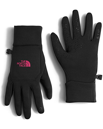 The North Face Women's Etip Gloves TNF Black/Cerise Pink MD