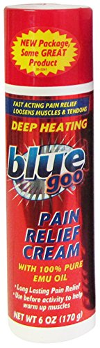 Blue Goo Pain Relief Cream 6oz