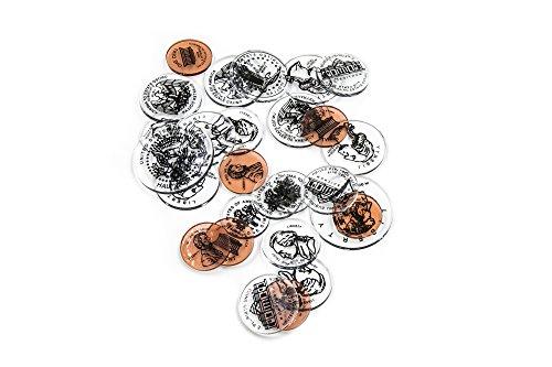 ETA hand2mind Overhead Coins, Set of 45 (Overhead Coin Set)