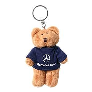 Mercedes benz boy teddy bear key chain key chains for Mercedes benz bear