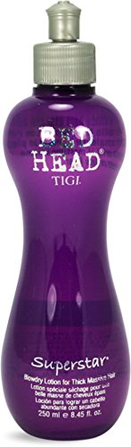 TIGI Bed Head Superstar Blowdry Lotion for Thick, Massive Hair, 8.5 oz (Pack of 10) by TIGI Cosmetics