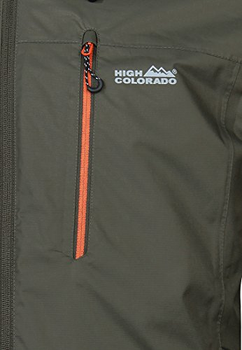 High Colorado Calgary 2in1 Jacke grau