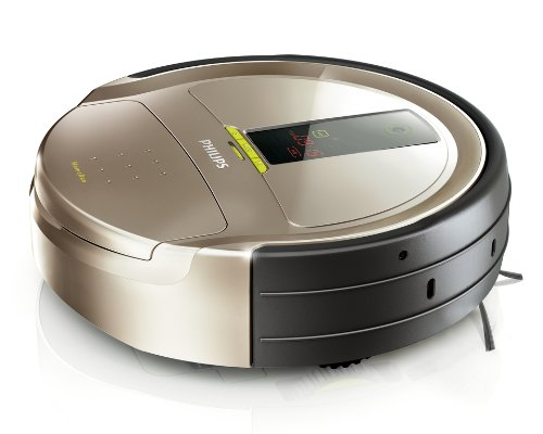 Philips FC9910 HomeRun Robot aspirador, 3 MB/s, 0.6 L, Gris, Plata, 70 Db, 4100 g, 145 x 510 x 395 mm - Aspirador: Amazon.es: Hogar