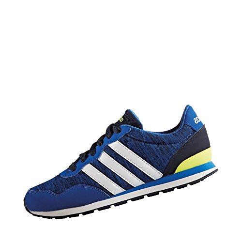 Adidas V Jog K, Scarpe da Ginnastica Unisex – Bambini, Blu (Azul/Ftwbla/Maruni), 38 EU