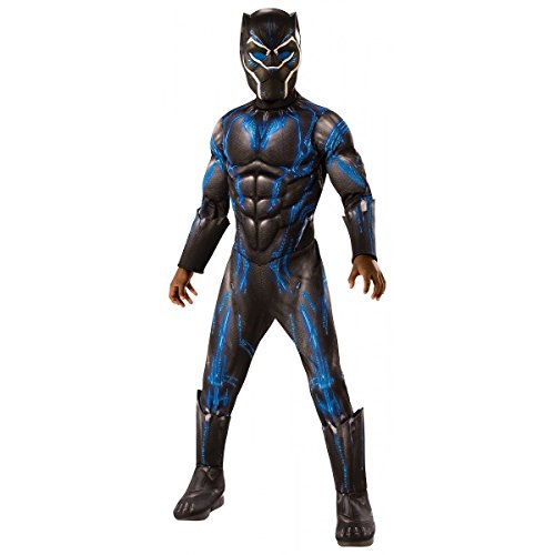 Deluxe Black Panther Child's Costume, Blue, Medium 8 to 10]()