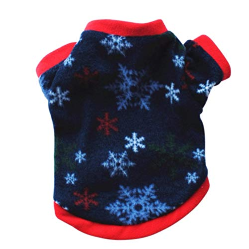 Jim Hugh Pet Dog Coat Winter Christmas Warm Sweater Cotton Costume Small Dog Cat Pet Clothing Jacket Apparel Warm -