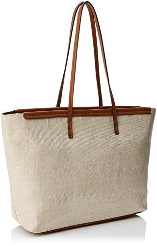 Beigecuero Top W 14x29x34 Lino EIDER H x Beige Women's Handle L cm Bag Mariamare Wav04qSw4