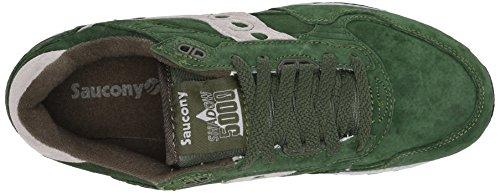 Saucony Originals Mens Shadow 5000 Classic Retro Sneaker Green/Grey lvOtHnX