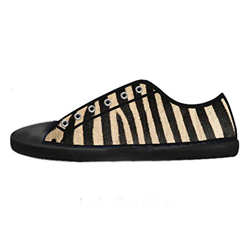 Dalliy zebra stripe Mens Canvas shoes Schuhe Footwear Sneakers shoes Schuhe A