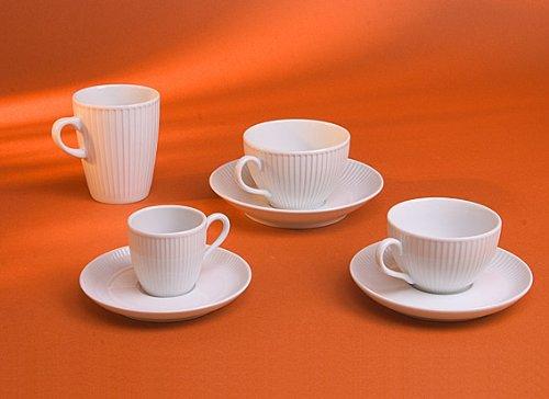 Pillivuyt Plisse Mug, 9-Ounce -  114227BL