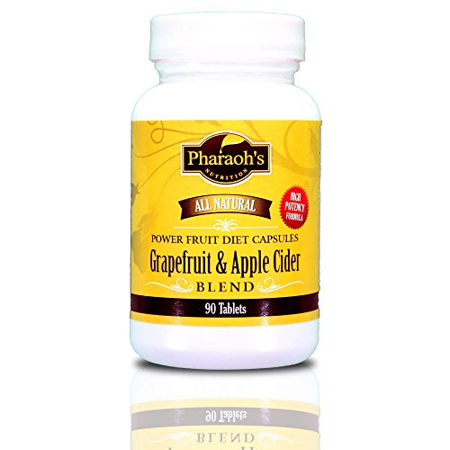 Grapefruit & Apple Cider Power Fruit Diet Capsules, All Natural, Premium 5 Star Rating. 90 Tablets