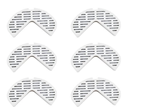 Pioneer Fountains Filter Compatible Replacement Pack of 6
