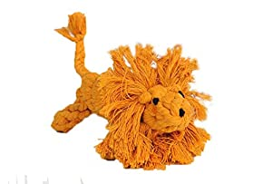 """Specification: Size:14.5X6cm/5.7X2.3"""" Material: cotton Features: Cute Rope Lion, perfect for pet to molar tooth  Good for chewing and helps keep teeth & gums clean & healthy Interactive play, fetch, and tug of war, relieving boredom, let them..."""