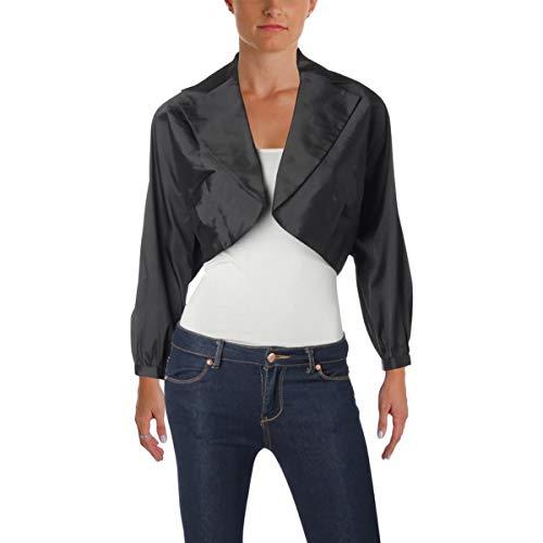 (Lauren Ralph Lauren Womens Collinette Special Occasion Party Jacket Black XS)